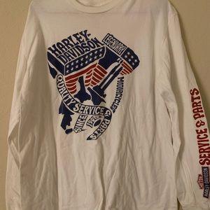 Harley Davison long sleeve T-shirt size large